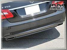 OE Type Carbon Fiber Rear Diffuser For M-Benz W212 E-Class E250 E350 E550 w/ AMG