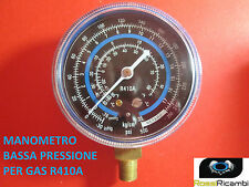 MANOMETRO BASSA PRESSIONE PER GAS REFRIGERANTE GAS R410A FREON 70 mm