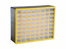 64 Pieces Heavy Duty Plastic Parts Organizer Drawer And Storage Box