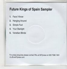 (GH960) Future Kings Of Spain, 5 track sampler - DJ CD