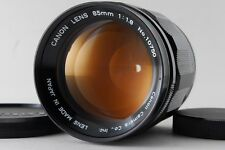 """""""Rare"""" """"Exc+++++"""" Canon 85mm F/1.8 for Leica Screw Mount LTM L39 From Japan A909"""