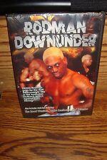 Dennis RODMAN Down Under / Road Warriors / Brutus Beefcake & Tatanka DVD Movie