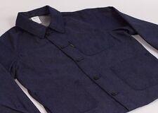 Le Laboureur `Bleu de Travail` French Work Chore Jacket Denim Size 1 S/ M