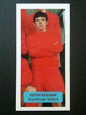 Scunthorpe United-Kevin Keegan Puntuación Tarjeta De Comercio De Fútbol UK