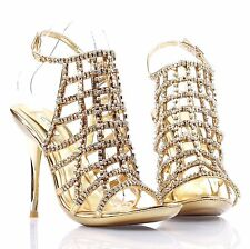 3 Color New Fashion Rhinestone Stilettos Womens High Heels Evening Dress Shoes