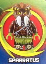 Lego 70130 Legends Of Chima  Sparratus Mini Figure+weapon(only)NEW