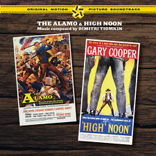 The Alamo / High Noon - 2 x CD Complete - Limited Edition - Dimitri Tiomkin