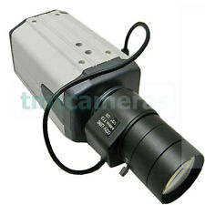 1200TVL AHD CVBS 1.3MP  6-60mm Varifocal Zoom Lens CCTV Security Box Camera OSD