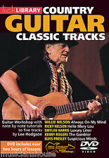 LICK LIBRARY Learn to Play COUNTRY CLASSIC TRACKS Willie Nelson Elvis GUITAR DVD