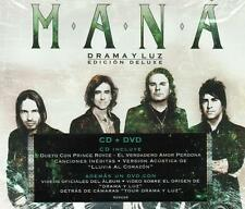 Mana CD NEW Drama Y Luz ALBUM 17 Canciones DELUXE + 1 DVD !