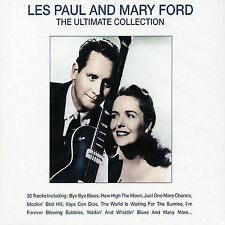 CD Les Paul and Mary Ford The Ultimate Collection 30 Songs Bye Bye Blues NEW