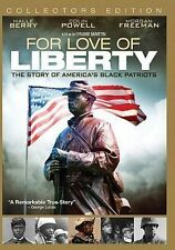 For Love of Liberty: The Story of America's Black Patriots (DVD 2014,2-Disc Set)