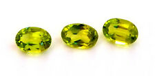 Peridot Faceted Stones Oval Shape 6 x 4 mm      1 pc.