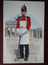 POSTCARD ASSAULT PIONEER - 1SR BN QUEENS LANCASHIRE REGIMENT BERLIN 1992 ALIX BA
