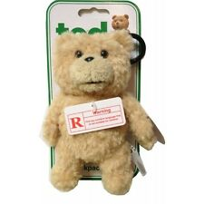 "Seth MacFarlane Talking TED 6"" 15cm stuffed plush figure Teddy bear Toy Keychain"