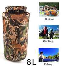 Portable 8L Camouflage Waterproof Bag Storage Dry Bag