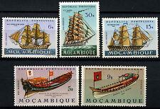 Mozambico 1963-4, 5 Gomma integra, non linguellato NAVE FRANCOBOLLI GATTO £ 8+ #d39742