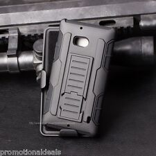 Protective Future Armor Hybrid Hard Back Case For Nokia Lumia 929 & 930