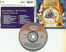 Die Grossen Deutschen Armeemärsche Heeresmusikkorps 6- West Germany CD Mercury (