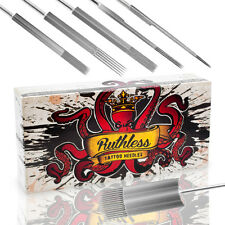 Ruthless Tattoo Needles Sterilized Individualy Packaged Box of 50 PREMIXED Sizes