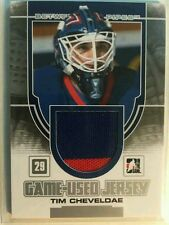 2013-14 In The Game Between The Pipes Game-Used Jersey Tim Cheveloe 13/14