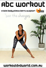 Ballet Barre EXERCISE DVD - Barlates Body Blitz - ABC WORKOUT Arms, Butt, Core!