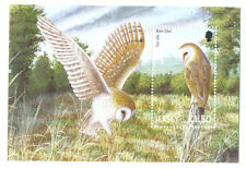 Jersey-Barn Owl Min sheet Birds of Prey