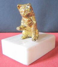 CHAT BRONZE DE VIENNE PLOMB DE NUREMBERG LITTLE CAT