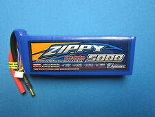 ZIPPY 5000mAh 3S 11.1V 30C 40C LIPO BATTERY 5.5MM BUGGY TRUCK PLANE QUAD EDF RC