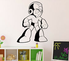 Mega Man Wall Vinyl Decal Rockman Sticker Capcom NES Video Game Decor 46(nse)