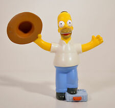 "2007 Homer Simpson 4"" Burger King Movie Action Figure Simpsons"