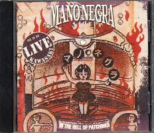"CD ALBUM  MANO NEGRA   ""IN THE HELL OF PATCHINKO"""
