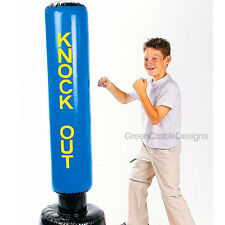 5 ft Inflatable Punching Bag Boxing Toy Karate Taekwondo Kids Sports Bop Child