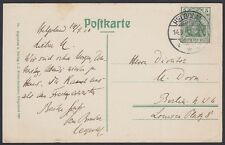 GERMANY, 1910. Photo Post Card Mi85I, Helgoland - Berlin