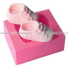 Baby Shoes Silicone Mould Fondant Mold Cake Decorating Sugarcraft Chocolate