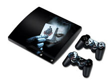 NY Vinyl Skin Sticker Cover Decal For PS3 PlayStation 3 Slim + 2 Controllers#710