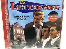 NEW The Lettermen When I Fall in Love CD Original Recordings 1989 Oldies Sealed!