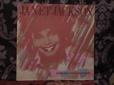 "Janet Jackson Come Give Your Love To Me RARE 12"" Single"