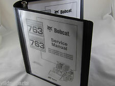 Bobcat 763 763H Service Manual Book Skid steer 6900091 repair shop book