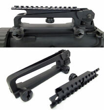 Detachable Carry Handle with w/ Dual Aperture A2 Rear Sight plus Raised Flattop