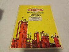 Chesterton Mechanical Packing Seals Catalog ASBESTOS 1973 Gasket Pictures OOP