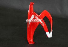 Neu AEST Fahrrad Glasfaser Trinkflaschenhalter Rot