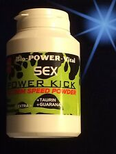 WOW~SEX-SPEED-KICK Potenzmittel TESTOSTERON BOOSTER Steroide ANABOL POWDER