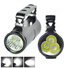 6000LM 3X XM-L2 LED Camping USB Micro Rechargeable Flashlight Torch 3-Modes Lamp