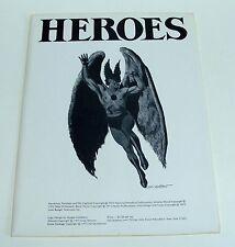 ORIGINAL 1975 HEROES - GRAY MORROW PORTFOLIO - HAWKMAN - JOKER - SAL QUARTUCCIO