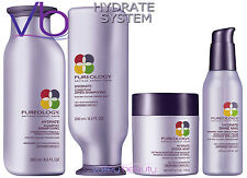 Pureology Hydrate Full System Shampoo, Conditioner, Hydra Whip, Shine Max Vegan!