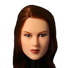 bbi Takara CG Cy Girl Perfect Body Female Figure Head Auburn 1:6 Scale (1258a4)
