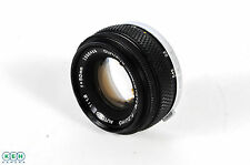 Olympus 50mm F/1.8 OM Mount Manual Focus Lens