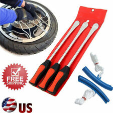 Spoon Motorcycle Tire Iron Irons Changing Rim Protector Tool Combo New free Case