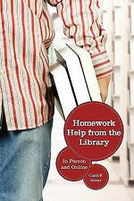 Homework Help from the Library: In Person and Online